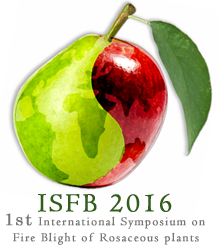 1st International Symposium on Fire Blight of Rosaceous Plants